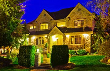 landscape lighting design in Bellmore NY
